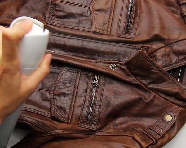 Догляд за шкіряним одягом