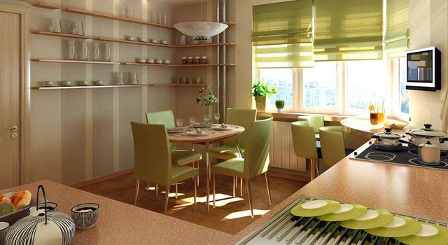 Декор кухні в квартирі