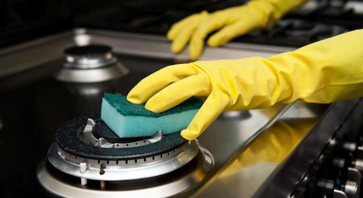 Як почистити газову плиту в домашніх умовах
