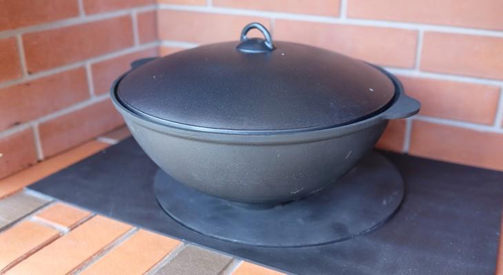 Як прожарити чавунний казан в домашніх умовах