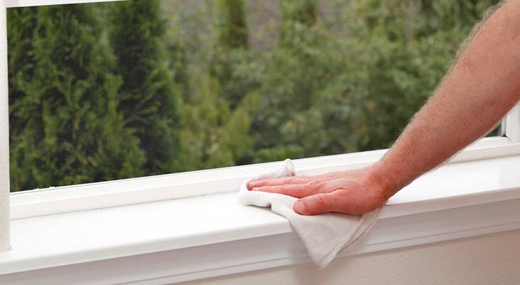 Як відбілити пожовклий пластик (підвіконня, вікно, холодильник)