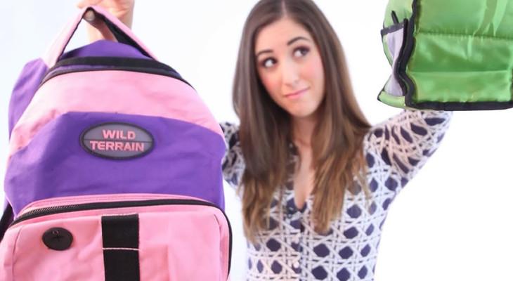Як випрати рюкзак в пральній машині: способи