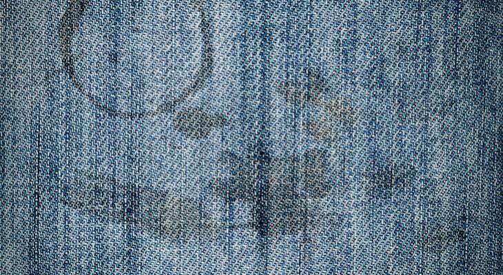 Як відіпрати масну пляму на джинсах
