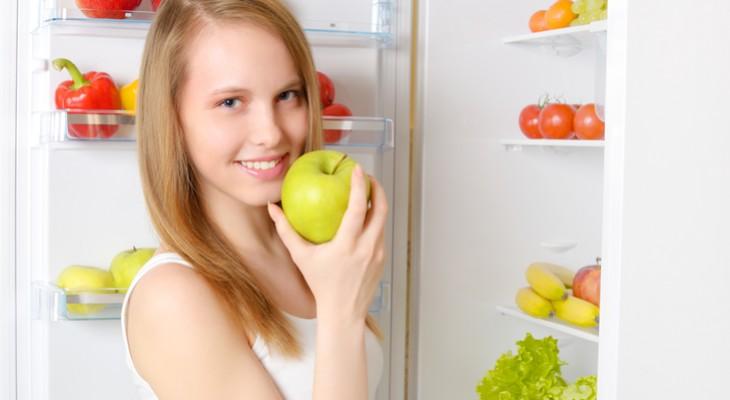 Як зберігати яблука в холодильнику
