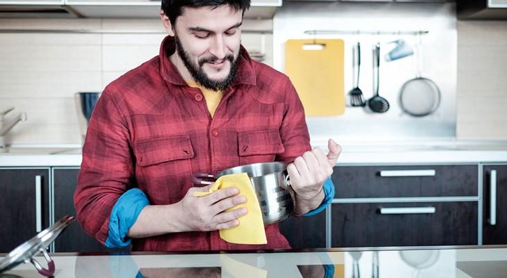 Як відчистити каструлі з нержавійки від нагару зовні і всередині