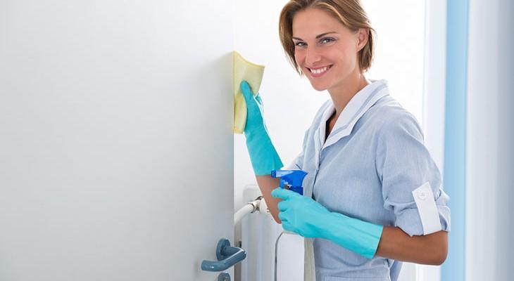 Як видалити жирні плями з міжкімнатних дверей
