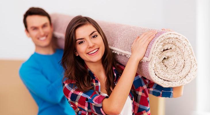 Як висушити килим після потопу або чищення