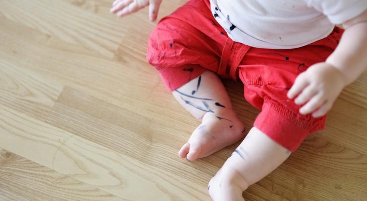 Як відіпрати маркер з одягу