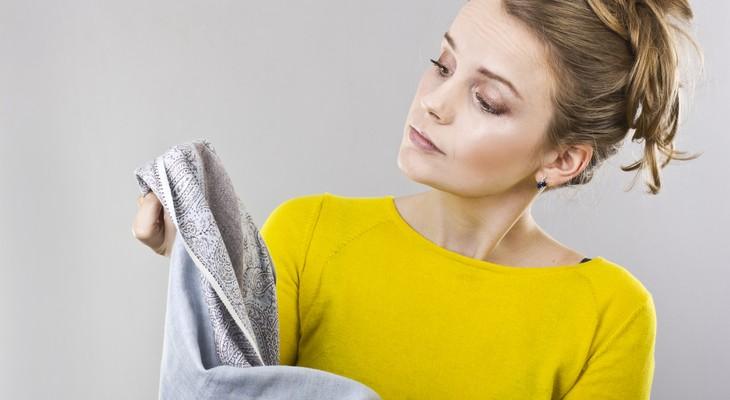 Як відіпрати масну пляму на одязі