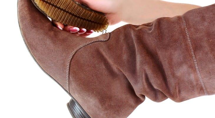 Як прибрати сіль з замшевого взуття в домашніх умовах