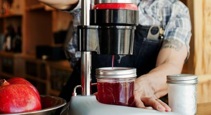 Соковижималка-прес для віджиму яблук та інших фруктів