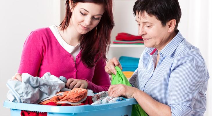 Як прати бавовну в пральній машині і вручну
