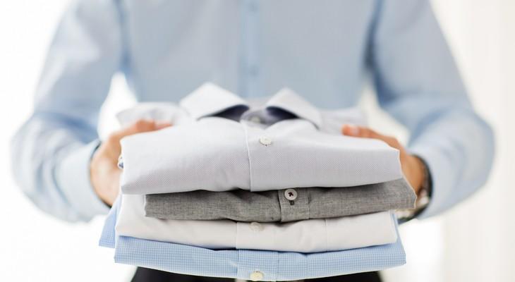 Як відіпрати комір білої сорочки