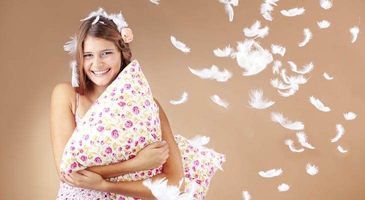 Як випрати пір'яну подушку в домашніх умовах