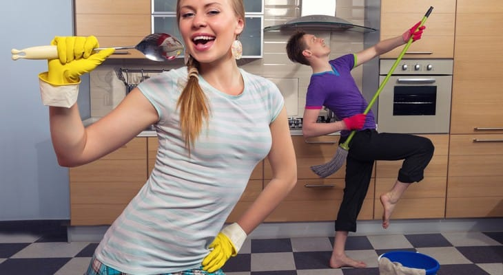 Як навести порядок в квартирі: в кімнаті, на кухні