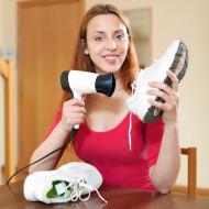 Як швидко висушити взуття зсередини в домашніх умовах або в поході