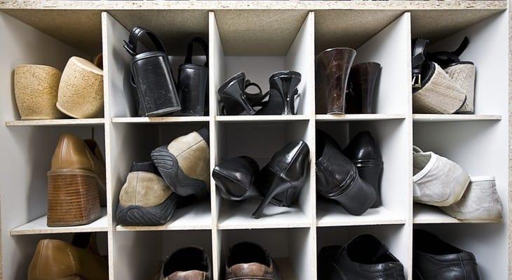 Як зберігати взуття в шафі, вбиральній, передпокої