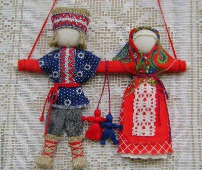 Лялька мотанка нерозлучники: як зробити