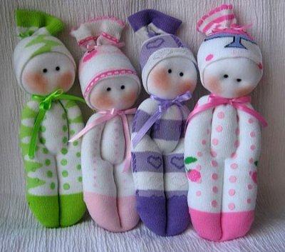 Як зробити ляльку з носка