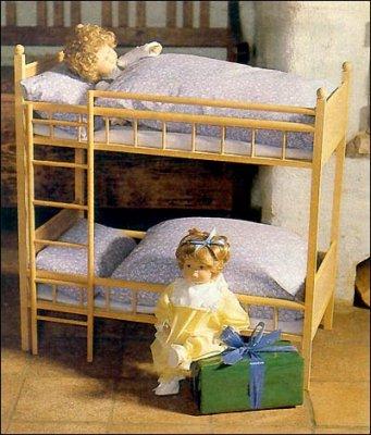 Як зробити ліжко для ляльки