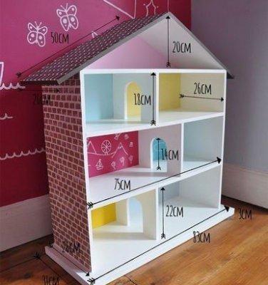 Як зробити будинок для ляльок