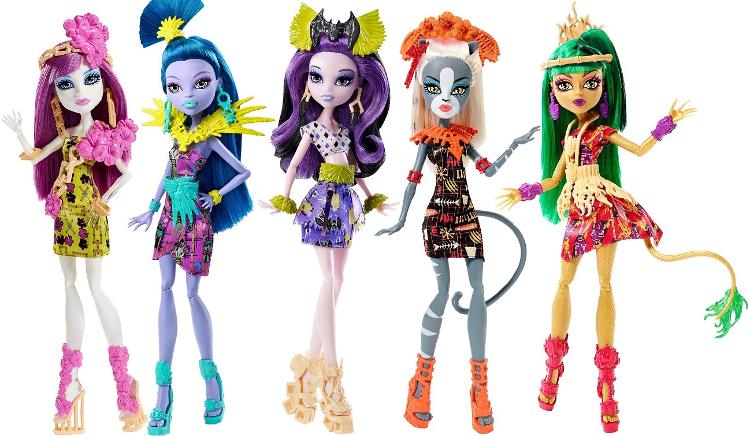 Все картинки кукол монстр хай новые серии