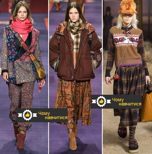 Образи в етнічному стилі осінь-зима 2017-2018 від Coach 1941