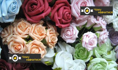квіти для машини на весілля