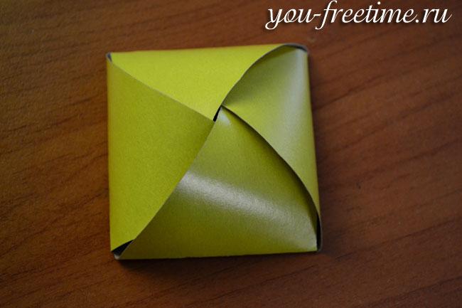 Подарункова коробка своїми руками