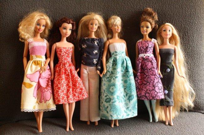 Як зробити плаття для ляльки