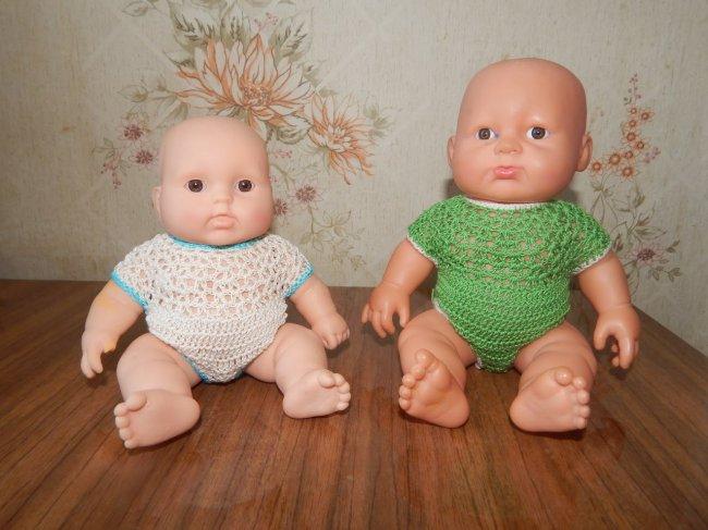 Як зробити одяг для ляльки Бебі Борн