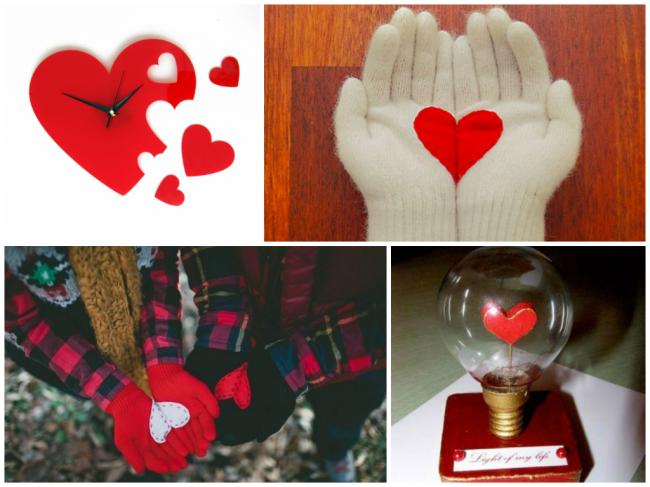 Ідеї подарунків на 14 лютого своїми руками