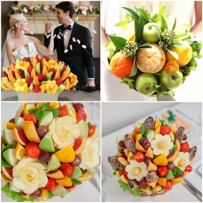 Букет з фруктів своїми руками