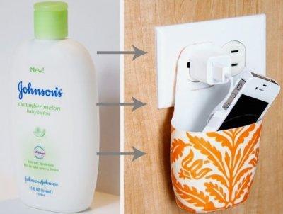 Як зробити тримач для зарядки телефону своїми руками