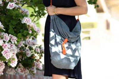Хенд-мейд: літня сумка своїми руками без шиття