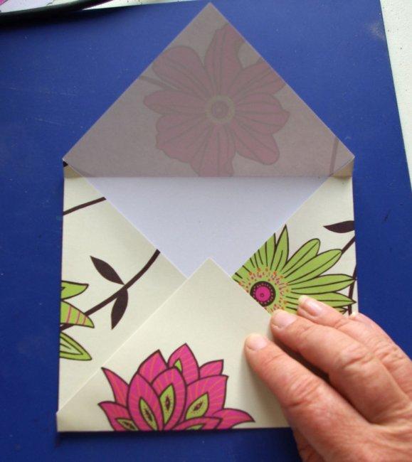 Як зробити конверт з паперу а4