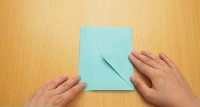 Як зробити конверт з паперу а4 без ножиць