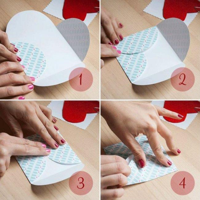 Подарункові конверти з кольорового паперу своїми руками