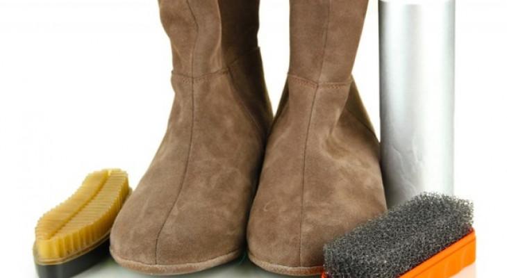 Як правильно здійснювати догляд за замшевою взуттям