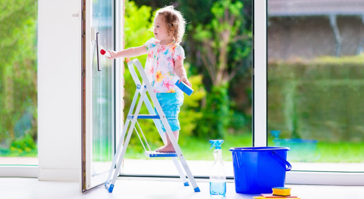 Засоби для догляду за пластиковими вікнами