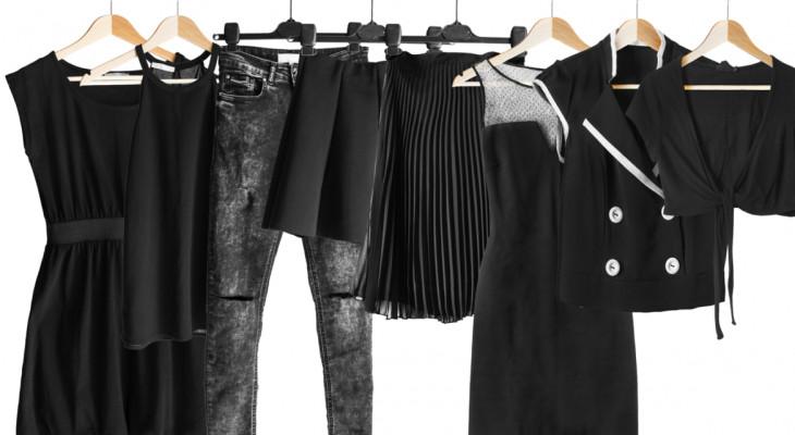 Як відновити чорний насичений колір одягу?